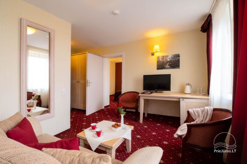 Viešbutis Pajūrio vieškelis - jaukūs kambariai, sauna, baseinas - 8
