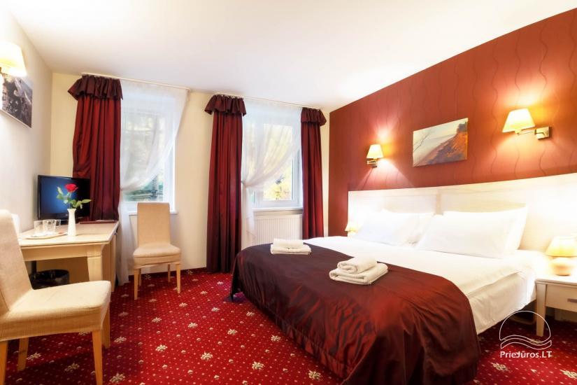 Hotel in Klaipeda Pajurio vieskelis - cosy rooms, sauna, pool - 14