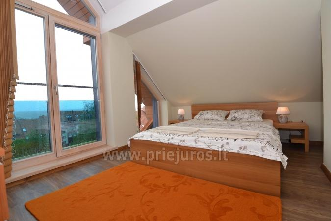 Well-equipped two rooms apartments with the view to the lagoon in Nida - 11