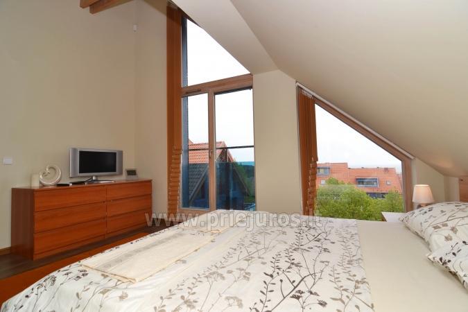 Labi aprīkotas divas istabas dzīvokļi ar skatu uz lagūnu Nidā - 13