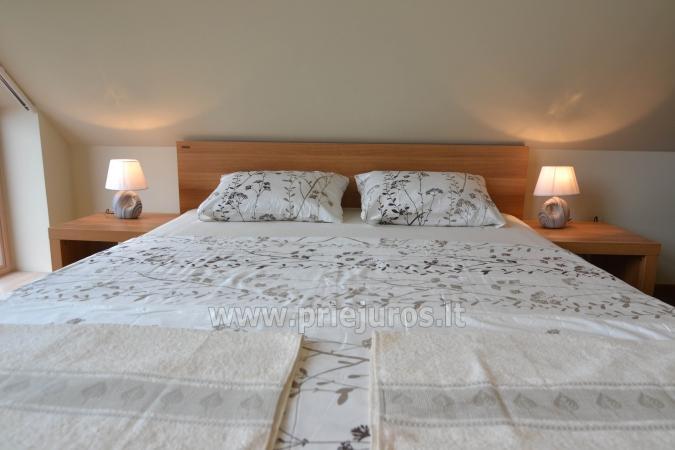 Labi aprīkotas divas istabas dzīvokļi ar skatu uz lagūnu Nidā - 12