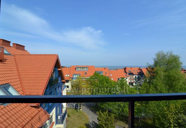 Well-equipped two rooms apartments with the view to the lagoon in Nida - 1