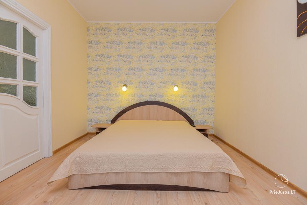 Jaukaus 2 kambarių buto nuoma Palangoje, centre, iki J. Basanavičiaus g. 200 m. - 1