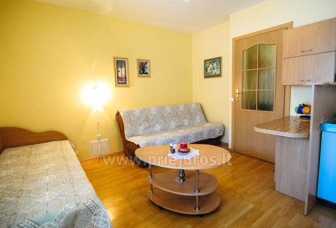 Keturvietis dviejų kambarių butas Palangoje su balkonu - 5