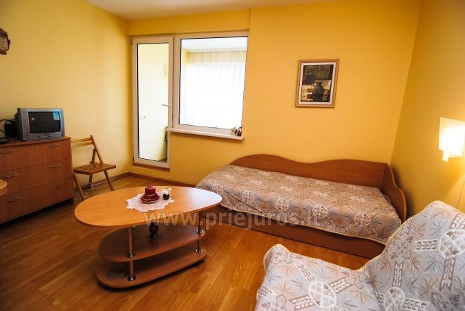 Keturvietis dviejų kambarių butas Palangoje su balkonu - 7