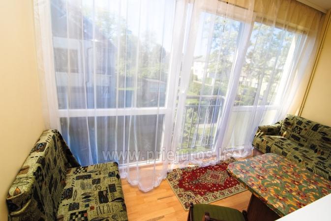 Keturvietis dviejų kambarių butas Palangoje su balkonu - 9