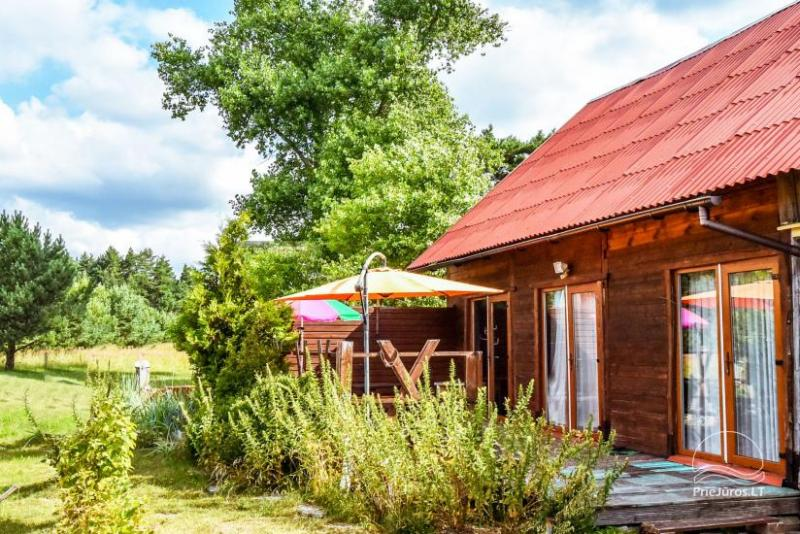 Rooms and a holiday house for rent near Sventoji