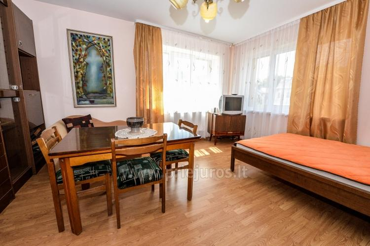 Triviečio ir keturviečio kambarių nuoma Palangos centre: balkonas, WiFi, pavėsinė kieme - 11