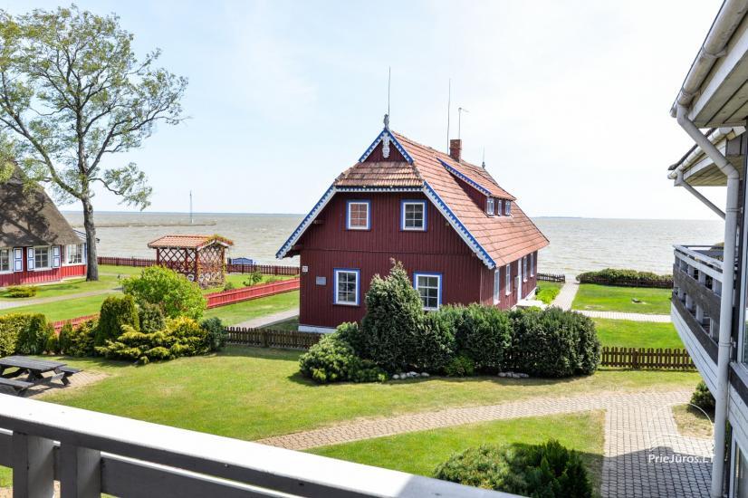 Apartments in Neringa: Terrasse / Balkon mit Blick auf die Lagune, Wi-Fi - 18