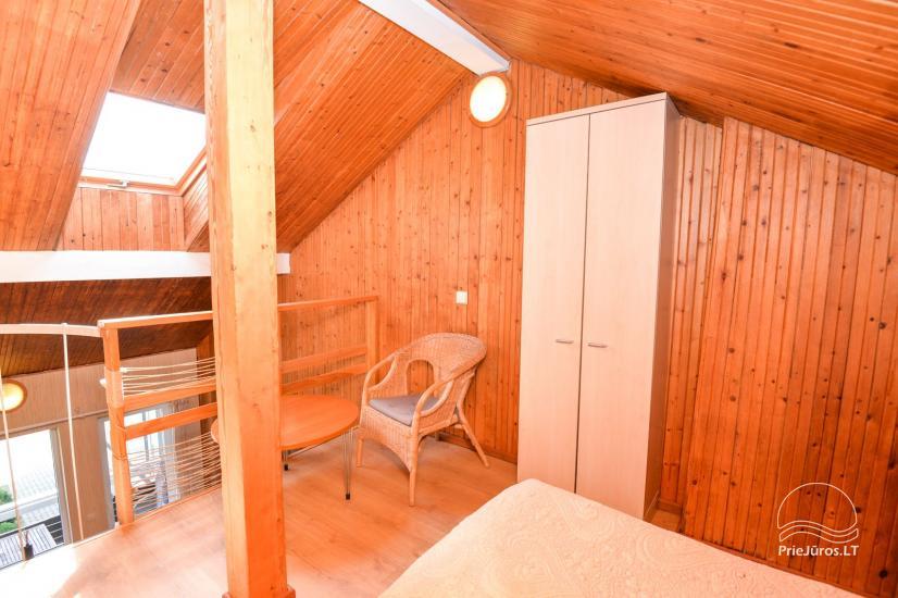 Apartments in Neringa: Terrasse / Balkon mit Blick auf die Lagune, Wi-Fi - 19