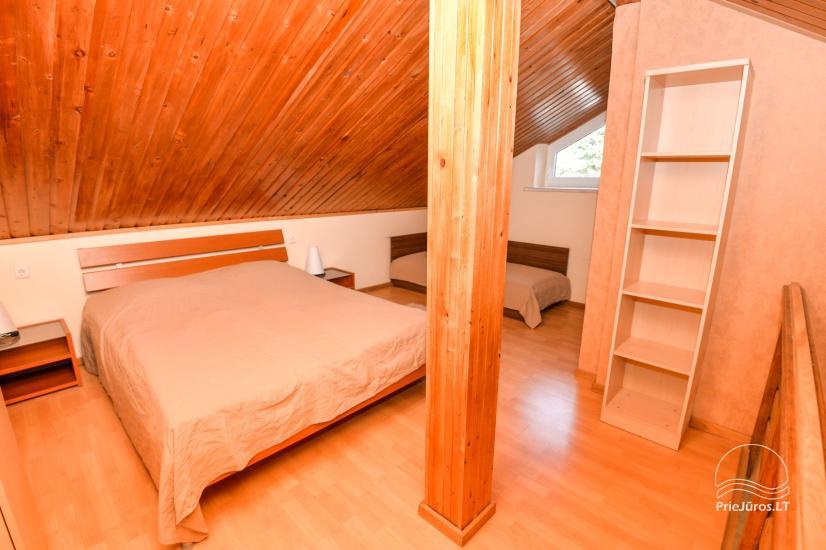 Apartments in Neringa: Terrasse / Balkon mit Blick auf die Lagune, Wi-Fi - 26