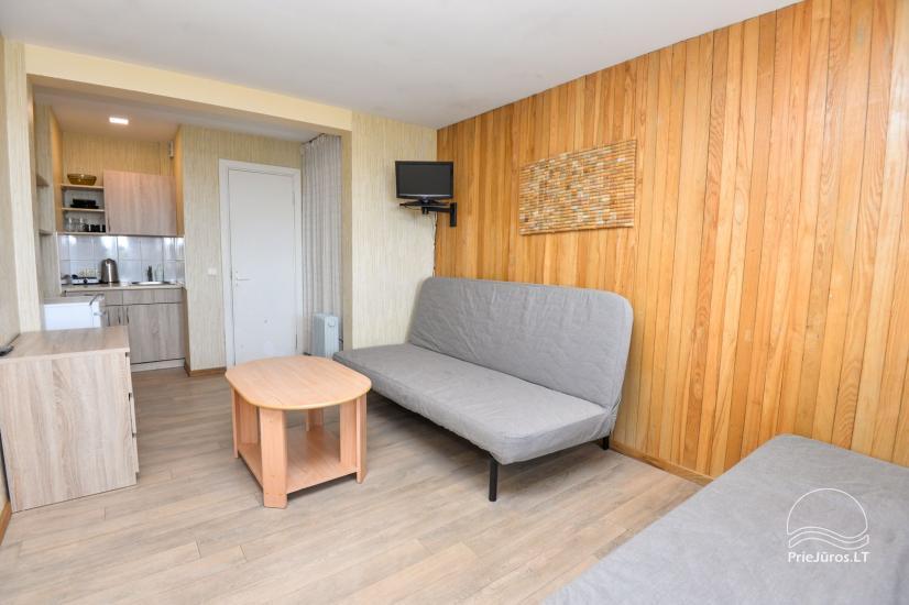 Apartments in Neringa: Terrasse / Balkon mit Blick auf die Lagune, Wi-Fi - 28