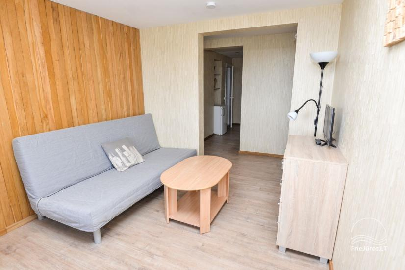 Apartments in Neringa: Terrasse / Balkon mit Blick auf die Lagune, Wi-Fi - 30