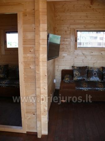Nauji mediniai nameliai Penkios gulbės. www.gulbiu5.lt - 5