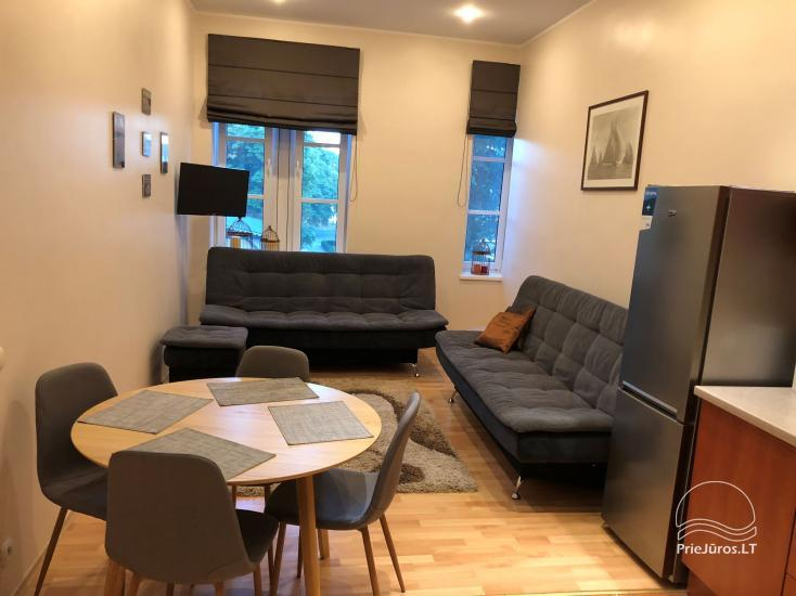 Two rooms apartment for rent in Juodkrante