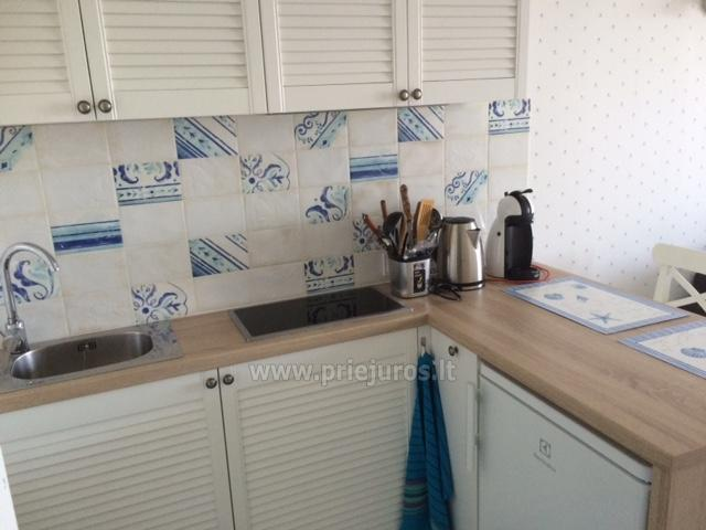 Flat (20 sq.m.) for rent in Nida - 5