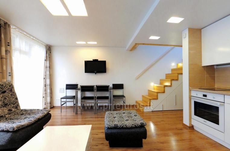 Nuoma Palangoje - 2 kambarių Smiltelės apartamentai. Yra WiFi, balkonas - 3