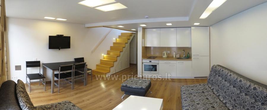 Nuoma Palangoje - 2 kambarių Smiltelės apartamentai. Yra WiFi, balkonas - 2