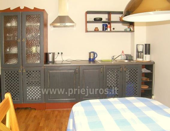 Hostel, rooms, apartments for rent in Preila.Terrace with the view to the lagoon! - 9