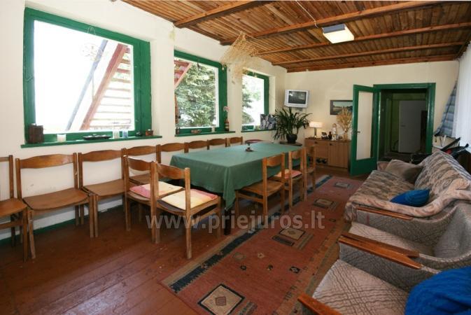 Hostel, Istabas, dzīvokļu īre Preila.Terrace ar skatu uz lagūnu! - 11