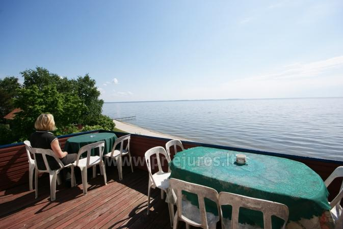 Hostel, Istabas, dzīvokļu īre Preila.Terrace ar skatu uz lagūnu! - 1