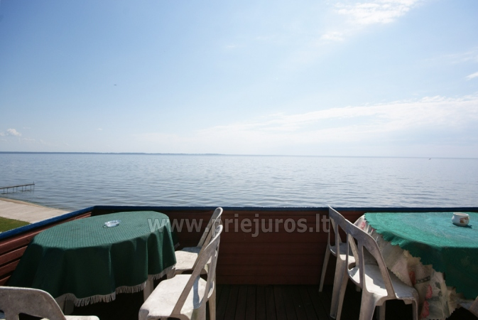 Hostel, rooms, apartments for rent in Preila.Terrace with the view to the lagoon! - 4