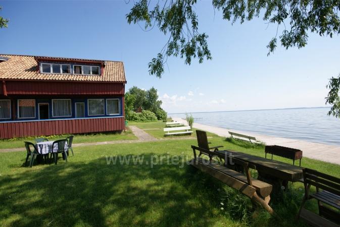 Hostel, Istabas, dzīvokļu īre Preila.Terrace ar skatu uz lagūnu! - 3