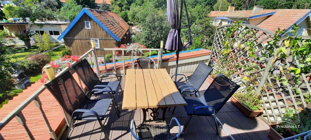Wohnung zu vermieten in Juodkrante, in L. Rezos ung Kalno Straße - 12