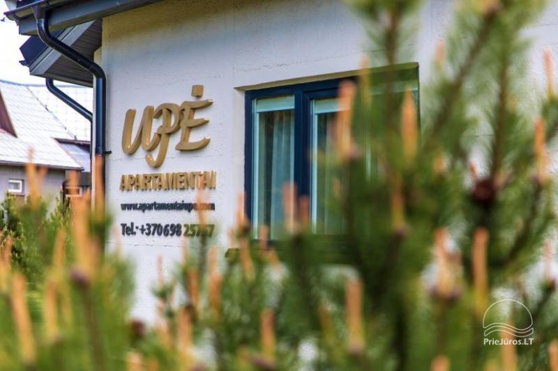 Apartments Upe in Sventoji