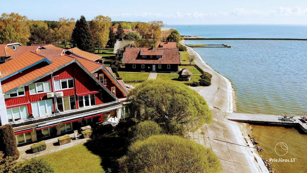 46 m ², 2-stöckige moderne Wohnung. Terrasse, Blick auf die Lagune - 3