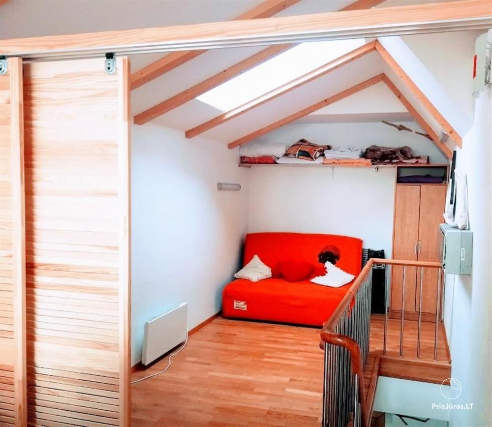46 m ², 2-stöckige moderne Wohnung. Terrasse, Blick auf die Lagune - 13