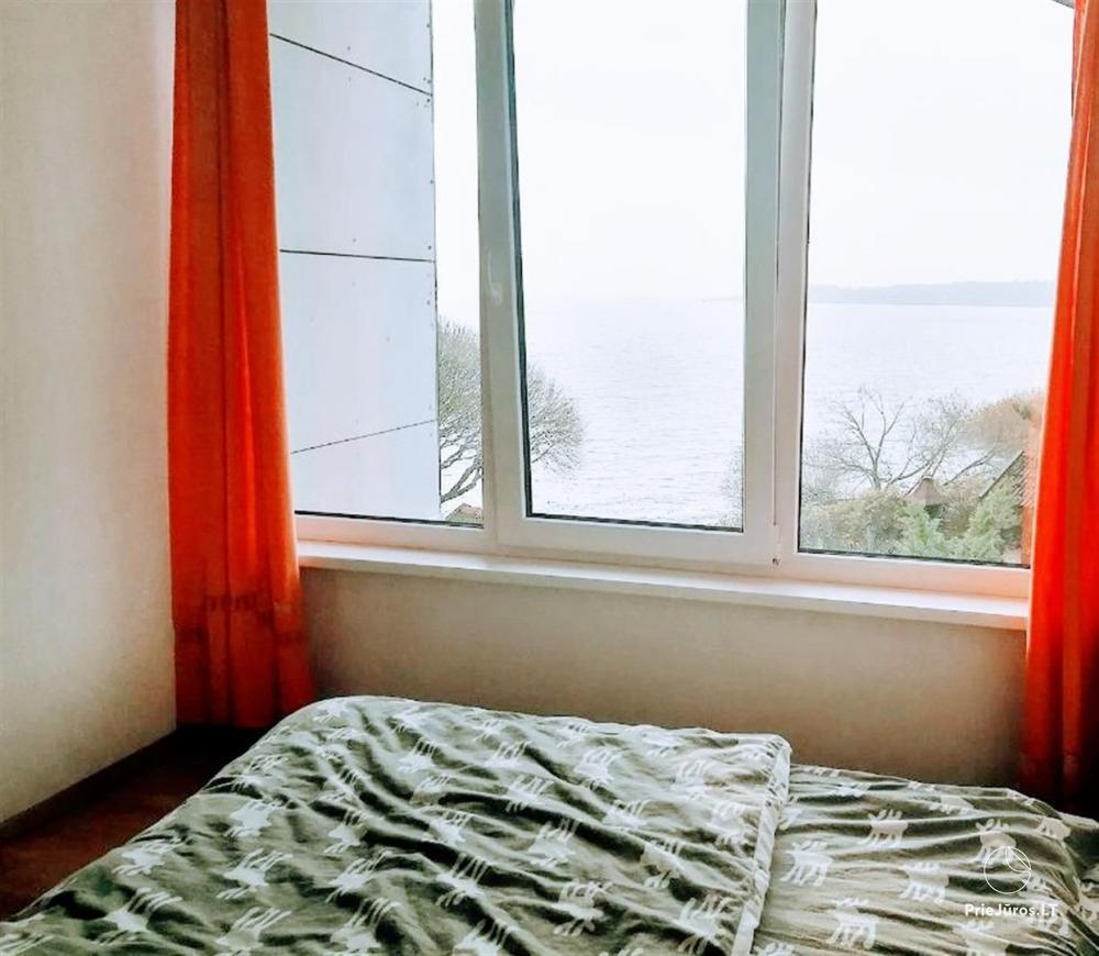 46 m ², 2-stöckige moderne Wohnung. Terrasse, Blick auf die Lagune - 15