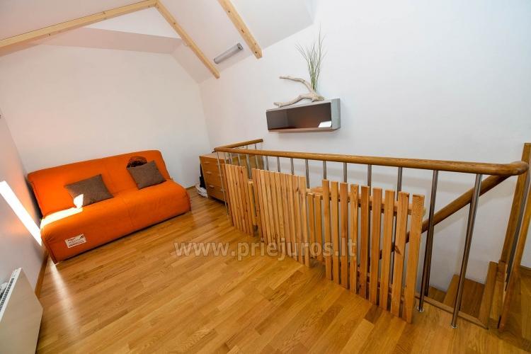 46 m ², 2-stöckige moderne Wohnung. Terrasse, Blick auf die Lagune - 14