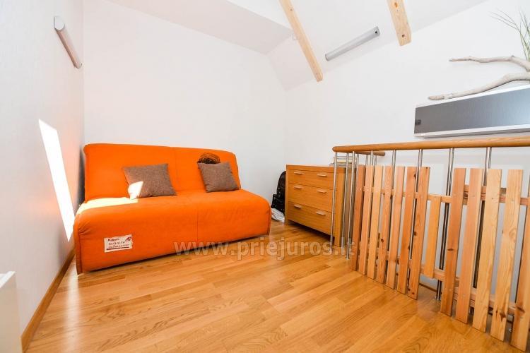 46 m ², 2-stöckige moderne Wohnung. Terrasse, Blick auf die Lagune - 18