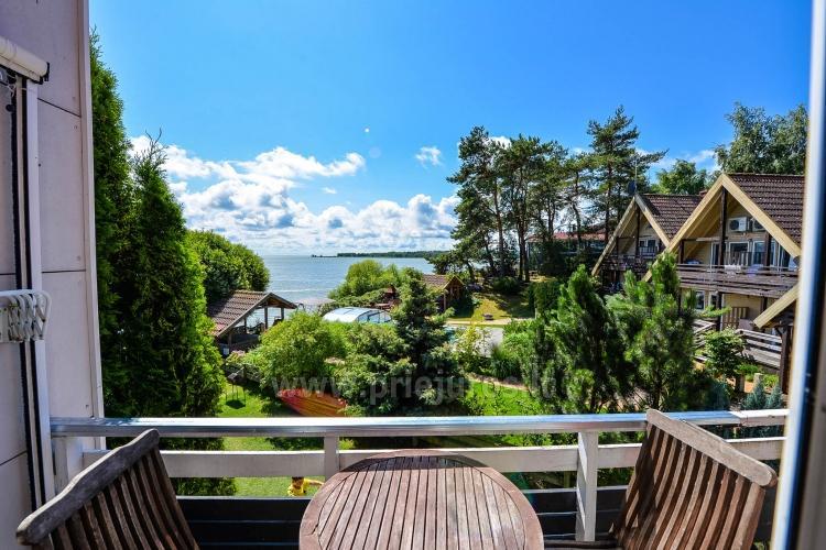 46 m ², 2-stöckige moderne Wohnung. Terrasse, Blick auf die Lagune - 19