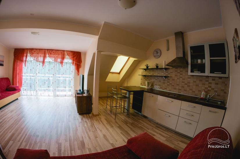 One or two rooms apartment for rent in the center of Nida - 4