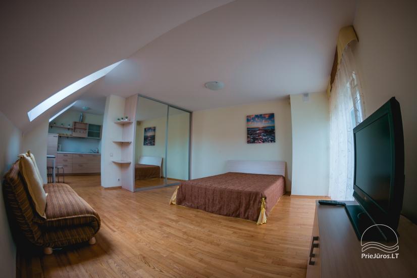 Vieno, dviejų kambarių apartamentai nuomai Nidos centre - 5