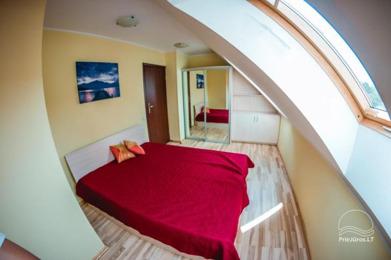 Vieno, dviejų kambarių apartamentai nuomai Nidos centre