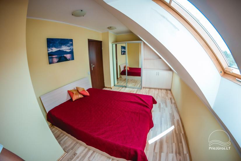 Vieno, dviejų kambarių apartamentai nuomai Nidos centre - 1