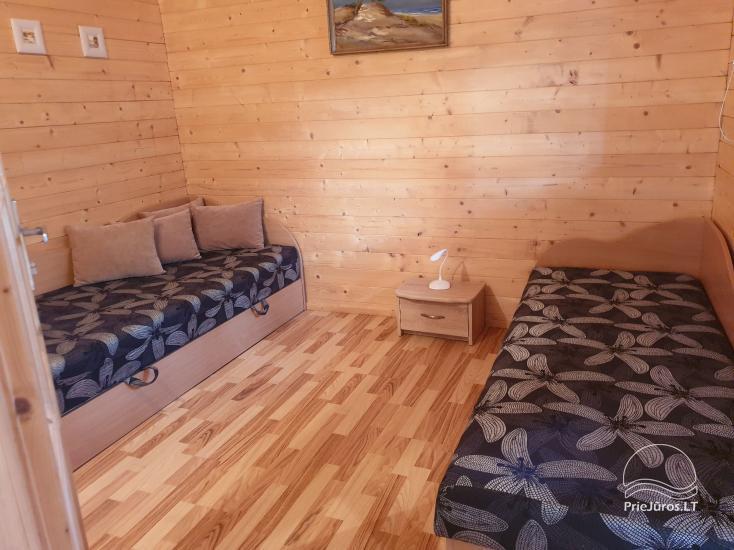 Namelių nuoma su patogumais ir kambarių nuoma Šventojoje - 6
