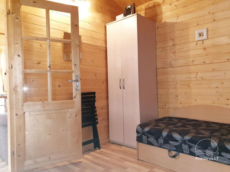 Namelių nuoma su patogumais ir kambarių nuoma Šventojoje - 7