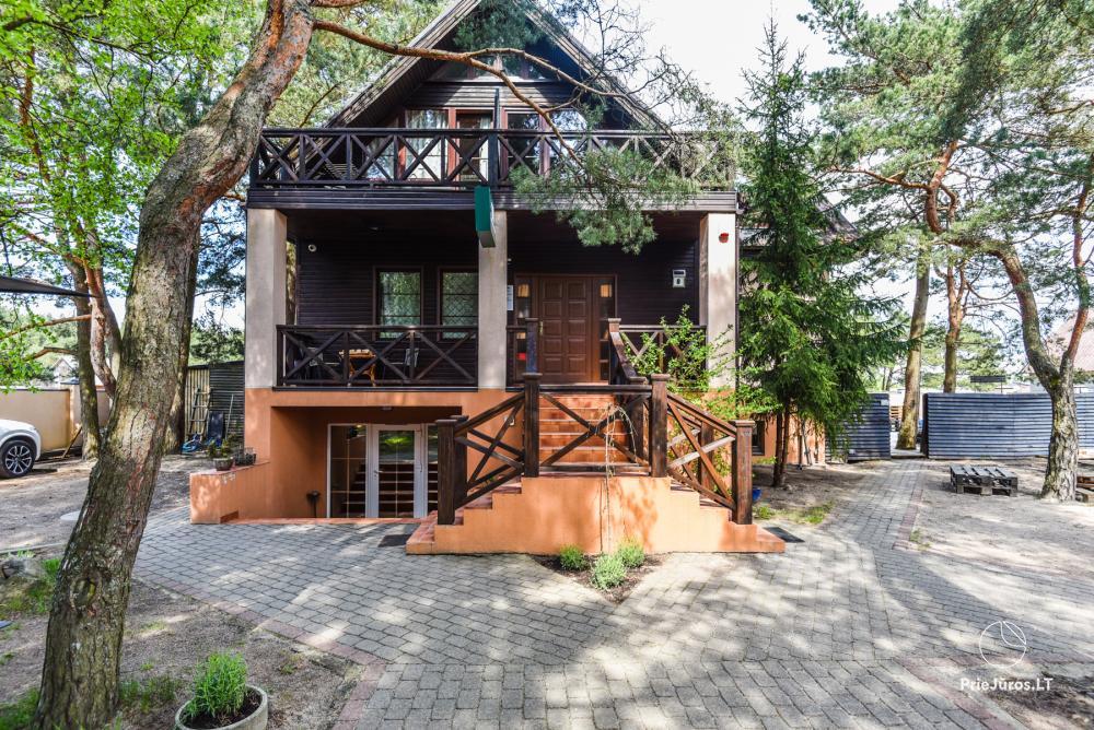 Holiday Home in Palanga Pušų kiemas - 200 m to the beach! - 1
