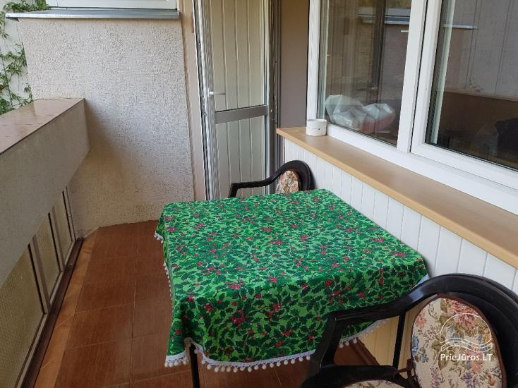 Buto su balkonu ir vaizdu į pušyną nuoma Palangoje. - 4