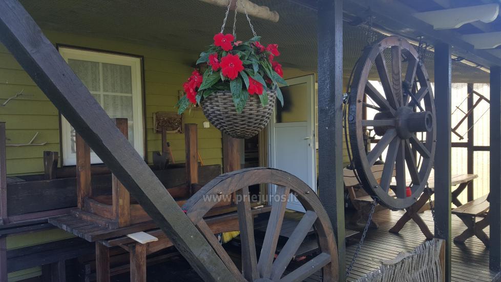 Mini kempingas palapinėms,namelio su patogumais,namelio ant ratų nuoma-200m iki jūros! - 3