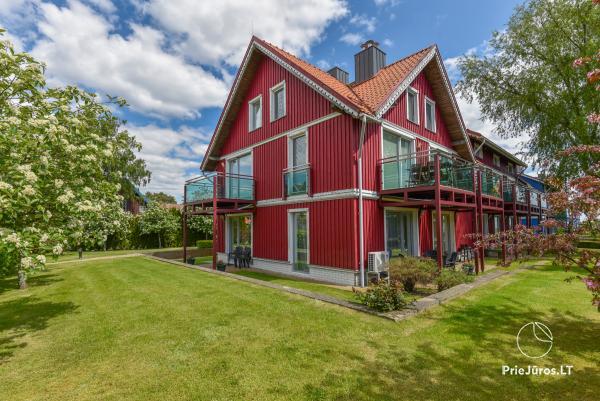 Wohnung für 2-4 Personen zu vermieten in Pervalka ganzjärig