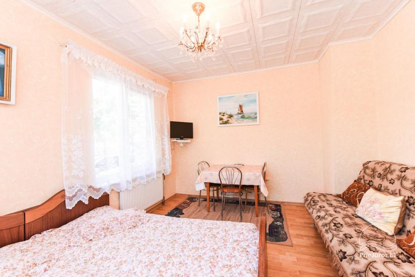 Apartment and room rent in Palanga  in private house - 7