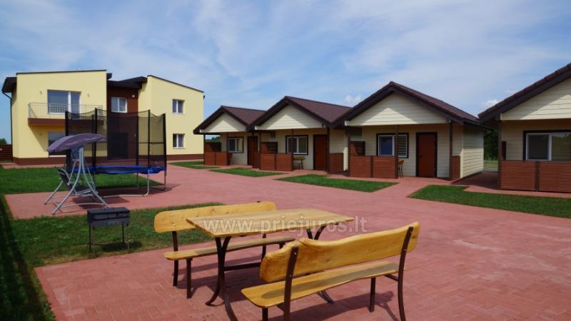 Aringa Residenz. Apartments und Ferienhäuser zur Miete in Sventoji