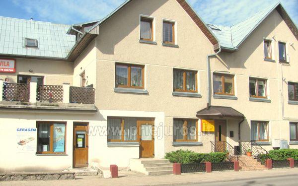 Telpu un dzīvokļu īre Palangā Eduardas viesu nami - 1