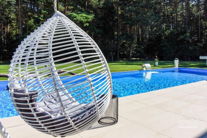 Luxuriös Haus zur Miete Pusyno Oaze: Jacuzzi, Schwimmbad, Terrasse - 2