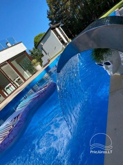 Luxuriös Haus zur Miete Pusyno Oaze: Jacuzzi, Schwimmbad, Terrasse - 10
